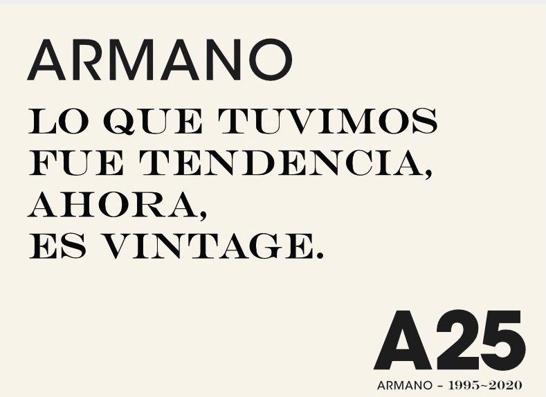 Armano Vintage